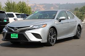 New 2018 Toyota Camry SE 4dr Car in Roseburg #T18014 | Clint ...