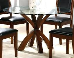 glass top dining tables with wood base round glass top coffee table with wood base simple
