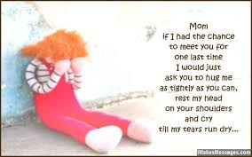 I Miss You Messages for Mom after Death: Quotes to Remember a ... via Relatably.com