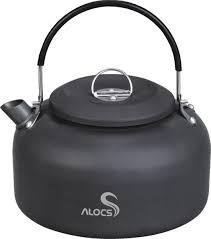 <b>Alocs</b> CW K03 <b>1.4L</b> Outdoor <b>Water</b> Kettle Pot <b>Camping</b> Picnic ...