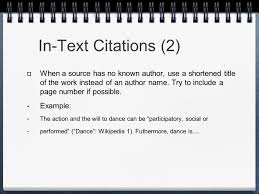 014 Mla Format In Text Citation Research Paper What Is 82688