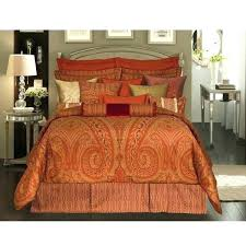 homey inspiration burnt orange queen comforter set sheets quilt brown and colored bed pure cotton solid color bedding sets plain regarding decorating king