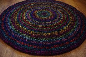 round rug custom