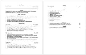 Personal Assistant Resume Templates Sarahepps Com