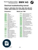 bmw 316i, 316g, 318ti, 318tds, 323ti (e36) compact elektrical Mazda B4000 Fuse Box Diagram at 1998 Bmw 318ti Fuse Box Wiring Diagram