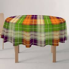"<b>Скатерть Protec Textil</b> ""<b>Alba</b>. Кантри"", круглая, цвет: зеленый ..."