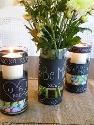 chalkboard paint vases gift