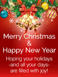 Merry Christmas And New Year Wishes Quotes