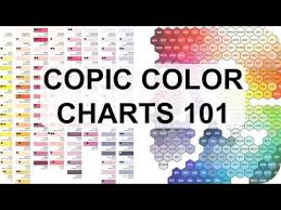 Copic Color Charts Why Theyre Useful Featuring Hex