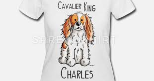 women s 50 50 t shirtcavalier king charles spaniel dog gift