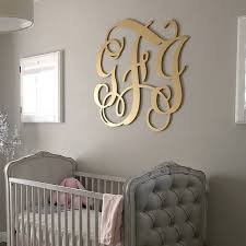 initial wall decor unique wooden monogram wood monogram wall hanging letters