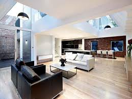 modern home interior designs design of an industrial style in melbourne house m24 interior