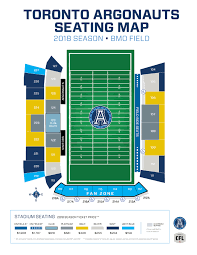 Bmo Field Seating Chart Seat Number Bmo Field Seat Numbers