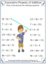 1000+ ideas about Associative Property on Pinterest   Properties ...Use these printable math worksheets to teach your child or students about the Associative Property of addition. Learn the rest of the addition properties in ...