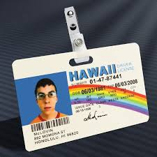 Badge Mission Prop Away Superbad Mclovin - The Id
