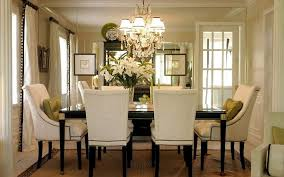 creative of chandelier ideas for dining room and cool dining room ideas with elegant french white uphostered chairs