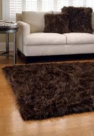 white faux fur area rug lovely faux fur area rug dark brown faux fur rugs white faux
