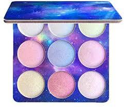 ZHUOTOP <b>Pro Makeup 9 Colors</b> Glitter <b>Eyeshadow</b> Palette Shimmer ...