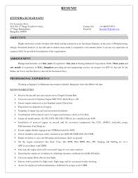 Motorcycle Mechanic Resume Samples Motorcycle Mechanic Resume