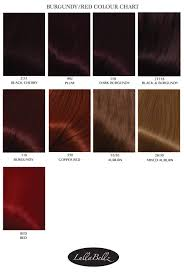 Burgundy Red Hair Color Chart Hair Color Ideas And Styles