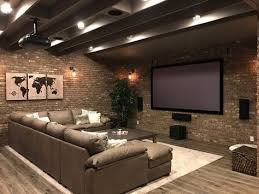 Small Basement Designs Fascinating Basement Ideas Basement Home Theater Basement Basement Ideas On A