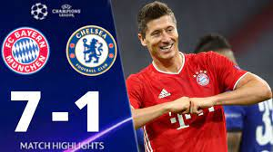 Bayern Munich vs Chelsea 7-1 UEFA Chamiions League 2020 All Goals And  Extended Highlights - YouTube