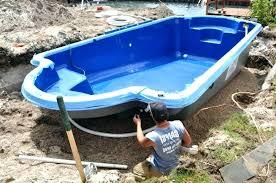 inground pool s fiberglass pool pool lap pool cost installed prefab fiberglass pools lap pool cost