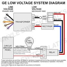 ge low voltage relays remote control relay switches transformers wiring your ge low voltage system transformer