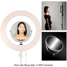 makeup light stand. note ring light and stand are not included makeup