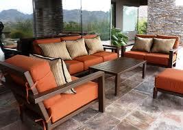 excellent orange square modern cotton custom patio furniture stained design ideas