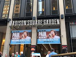 paul at madison square garden new york
