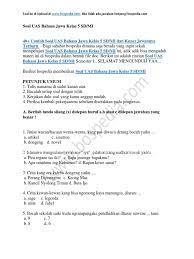 10 6 σ = 40,83. Pembahasan Soal Bahasa Jawa Materi Sesorah 2 Cute766