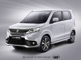 2018 suzuki wagon r.  wagon new maruti wagon r facelift rendered and 2018 suzuki wagon r a