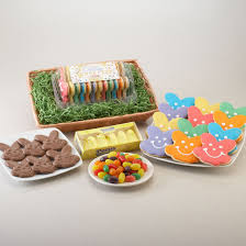 jelly beans and ps basket easter cookie bouquet