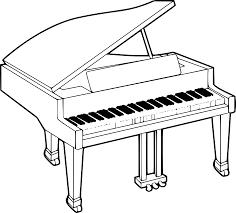 Piano Dessin Colorierl