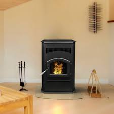 pleasant hearth cabinet style 50000 btu s pellet stove with 120 pound hopper