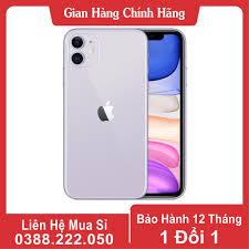 Điện thoại iPhone 11 Quốc tế 128GB Mới 99% Bảo Hành 12 Tháng