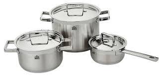 Купить <b>Набор посуды Stahlberg</b> Miranda 1716-S <b>6</b> пр. стальной по ...