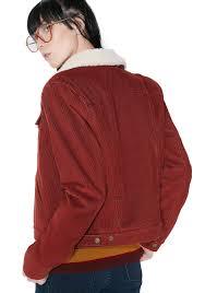 levis orange tab sherpa trucker jacket
