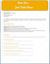 Template Software Engineer Sample Resume Template Dotxe Resume