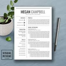 Legal Resume Template For Word & Pages | Lawyer Resume | Attorney ...