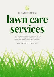 Lawn Care Brochure Customize 68 Landscaping Flyer Templates Online Canva