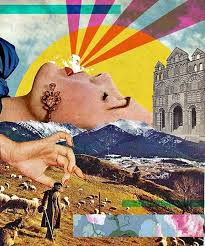 example of collage 40 clever and meaningful collage art examples