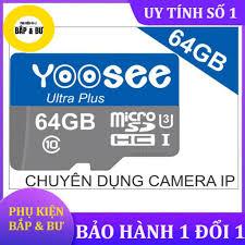 Thẻ nhớ Yoosee 64Gb U3 tốc độ cao chuyện dụng cho Camera IP wifi,  Smartphone