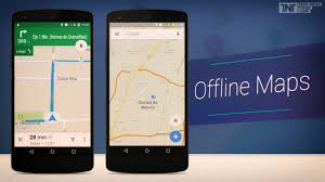 google maps for android gets offline navigation and search