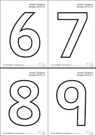 number templates 1 10 bubble numbers 1 10