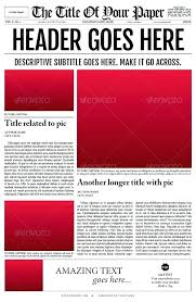 Newspaper Template For Google Docs Colonial Newspaper Template 5 Handy Google Docs Templates For
