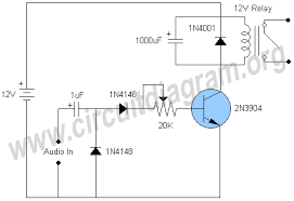 audio activated relay switch circuit diagram audio activated relay switch circuit diagram
