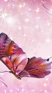 Pink Butterfly Wallpaper For Mobile ...