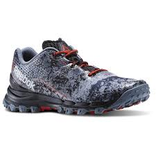 reebok running shoes red and black. reebok running shoes - mens all terrain thrill in asteroid dust/black/riot red men (rb87169) and black